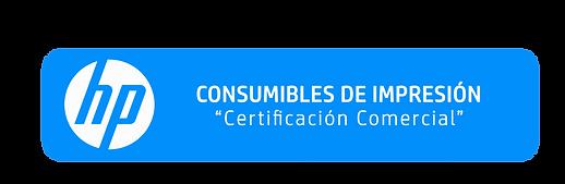 Certificación Comercial Consumibles de Impresión