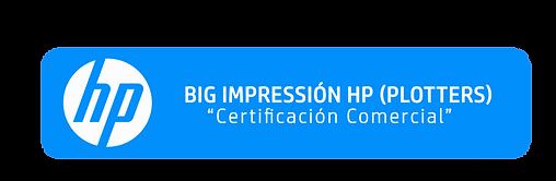 Certificación Comercial BIG IMPRESSIÓN HP
