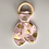 Thumbnail: Gold/Pink Bunny Ear Teether