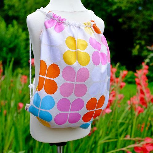 Scandi Flower Gym Bag