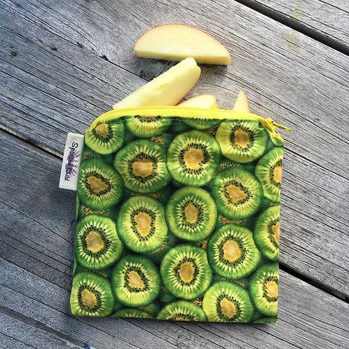 Kiwi Zipper Snack Pouch