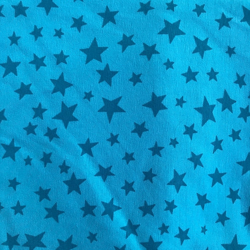 Turquoise Stars - Infinity scarf
