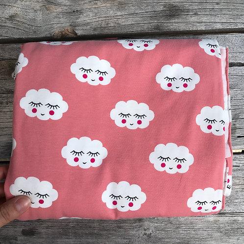 Sleepy Clouds - Salmon pink
