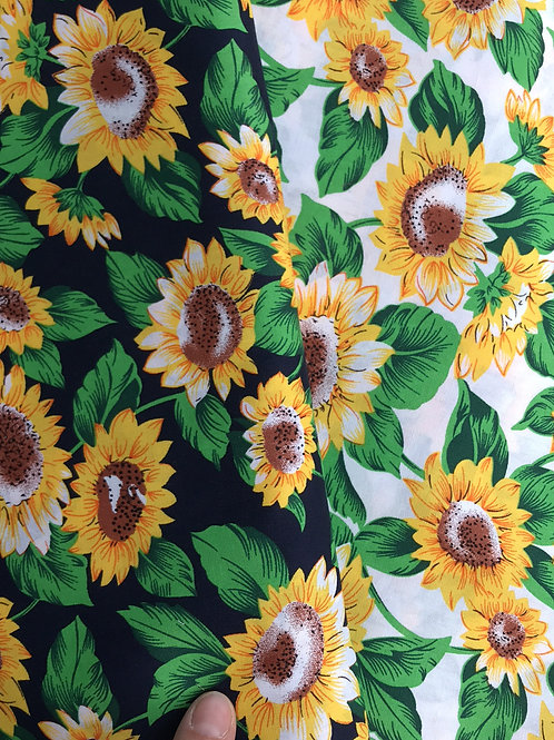 Sunflowers Bread Sack