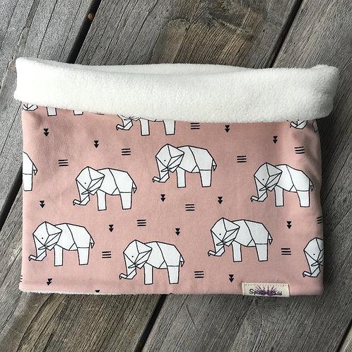 Origami Elephant Snood