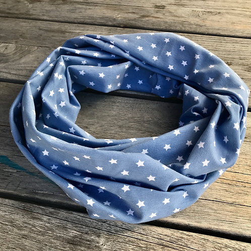 Jeans Blue Stars Infinity scarf