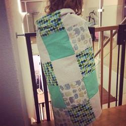 Toddler Patchwork Blanket