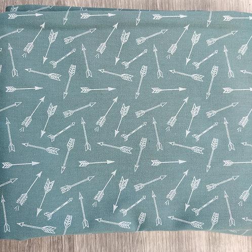 Green/Teal Arrows Reusable Face Covering