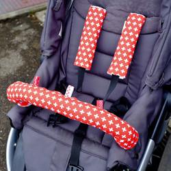 Swiss Flag Stroller Set