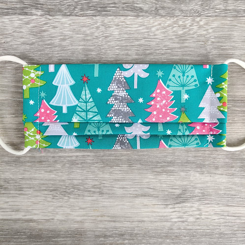 Christmas Trees Reusable Face Covering