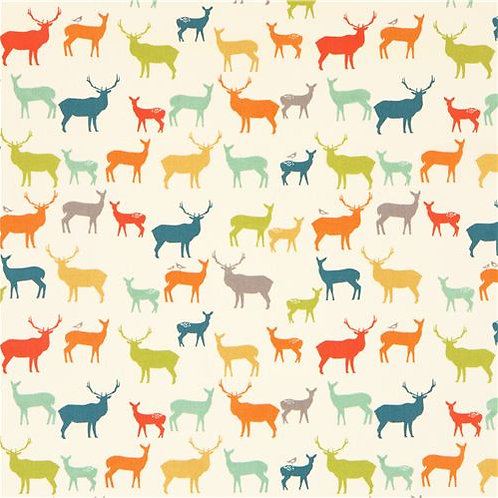 Colourful Deer - Beeswax Wrap