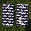 Thumbnail: Geeky Chic Moustaches on Navy Strap Covers