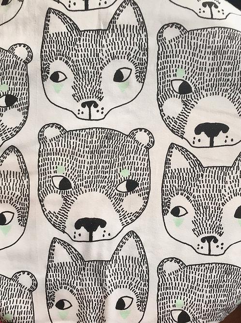 Monochrome Fox & Bear Jersey