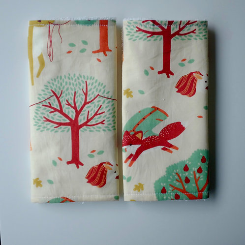 Forest Laundry Animals Strap Covers