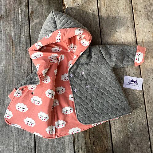 Sleepy Clouds Handmade Reversible Jacket