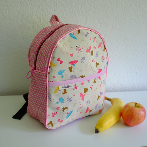 Ballerina Pre-school Handmade Backpack