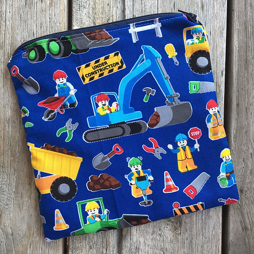 Lego Diggers Snack Pouch