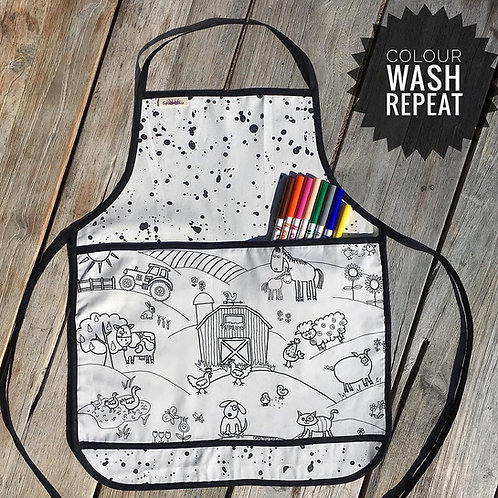 Colouring Apron -  Choose your own