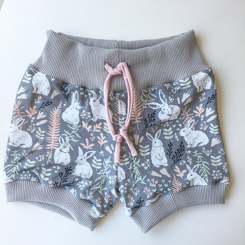 Whimsical Rabbits Lounge Shorts