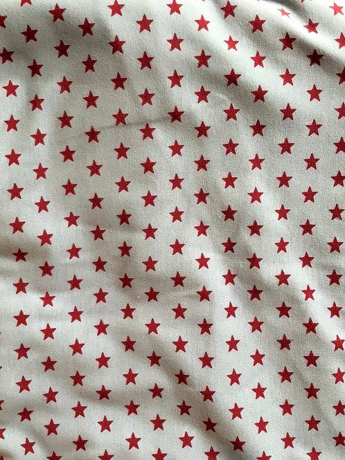 Stars Claret on Grey Jersey