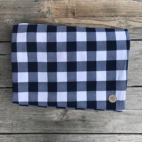 Navy Vichy Fabric