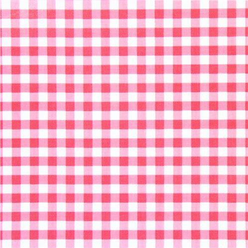 Hot Pink Gingham Wet bag - Leakproof