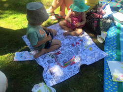 Busy Colouring Play Mat