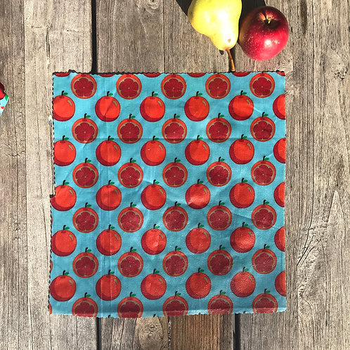 Scandi Oranges - Beeswax Wrap