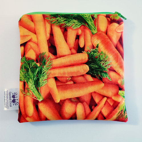 Carrots Snack Pouch