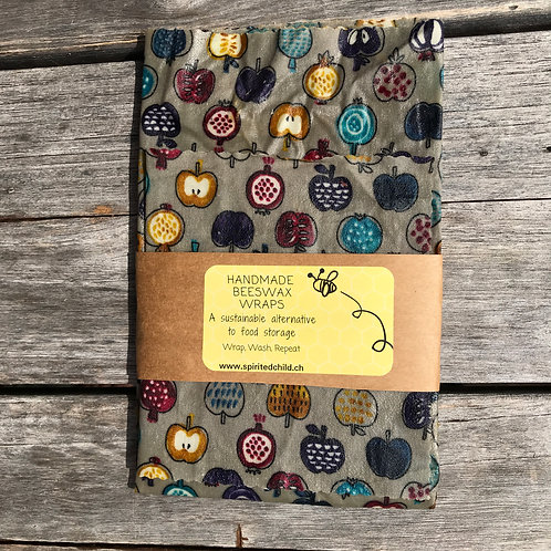 Apple & Passion fruit - Beeswax Wrap