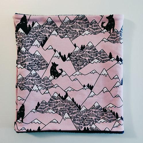 Rose Pink Mountain Snood