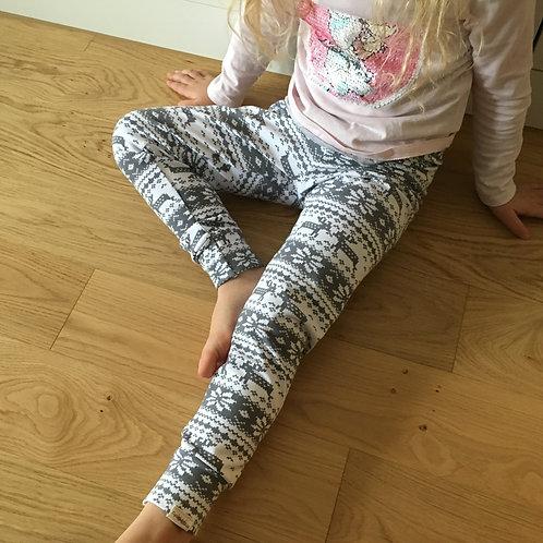 Scandi Leggings - Grey