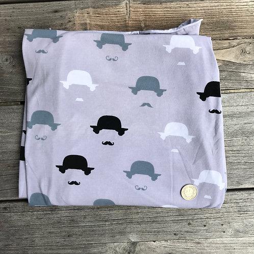 Retro Hat & Moustache