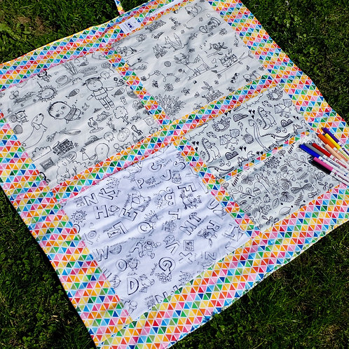 Washable Colouring Blanket