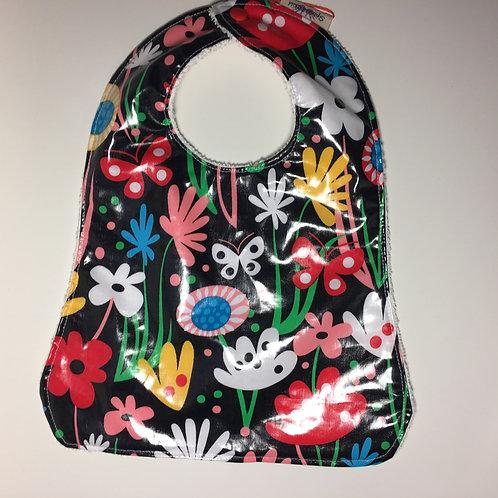 Flowers & Butterflys Waterproof Toddler Bib