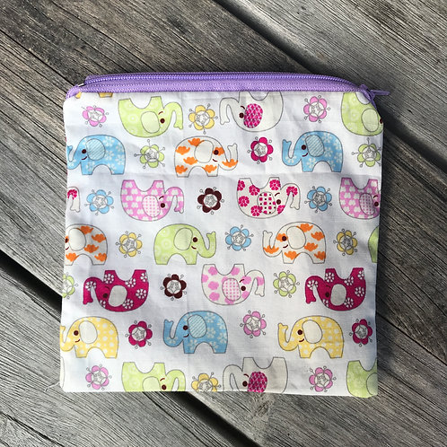 Ellie Elephant Snack Pouch