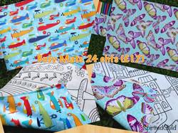 Custom made Busy Colouring Mats