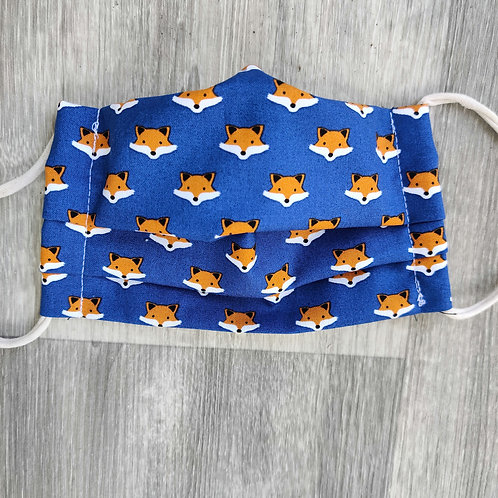Blue Foxes Reusable Face Covering