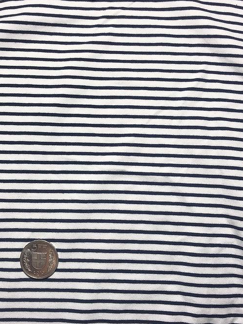 Marine Blue Stripe Jersey