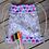 Thumbnail: Hearts and Paisley Colouring Drawstring Bag