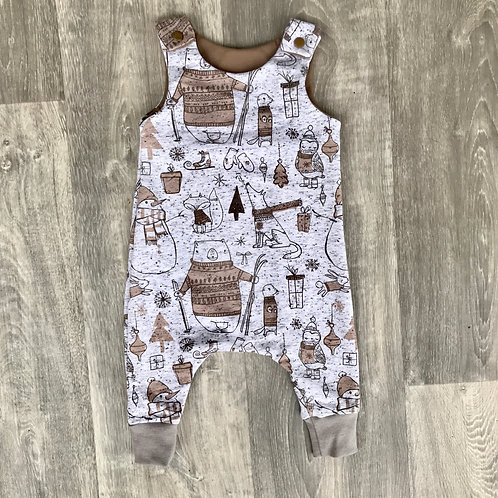 Winter Animals Romper