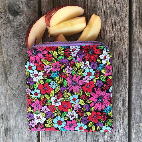 Flower Bouquet Snack Pouch