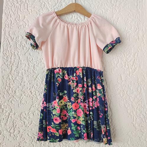 Flower Gathered Dress
