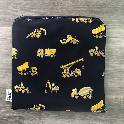 Navy Diggers Snack Pouch
