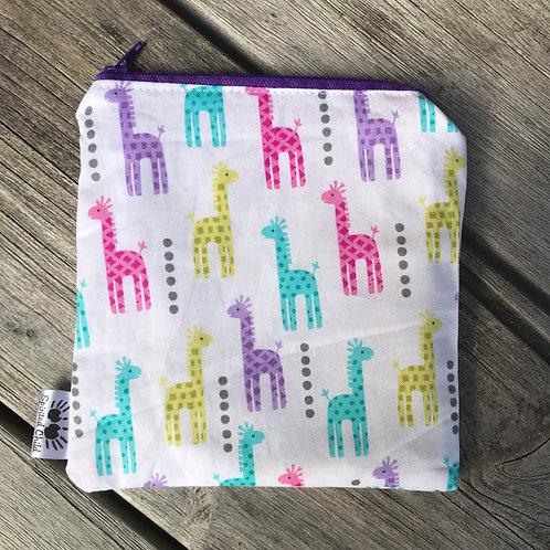 Giraffe Snack Pouch