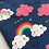 Thumbnail: Happy Clouds Snood