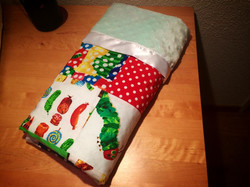 Hungry Caterpillar Toddler Blanket