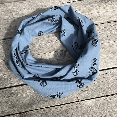 Bicycles Jeans Blue - Infinity Scarf