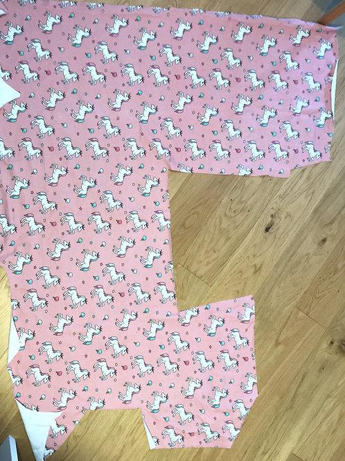 Pink Unicorn Sweat Jersey Remnant