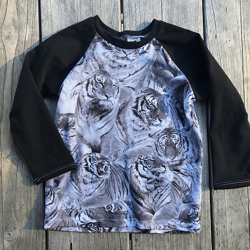 Tigers Raglan T-shirt